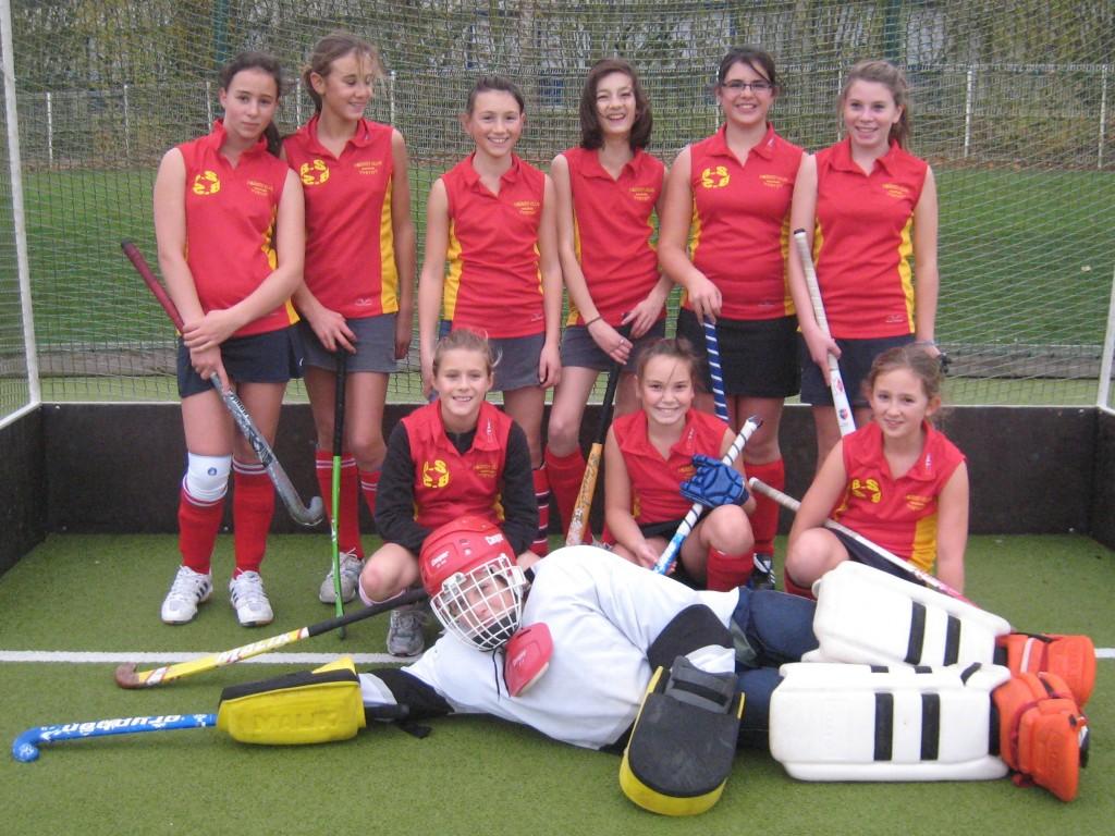 Les Minimes filles à Yvetot le 21/11/2009